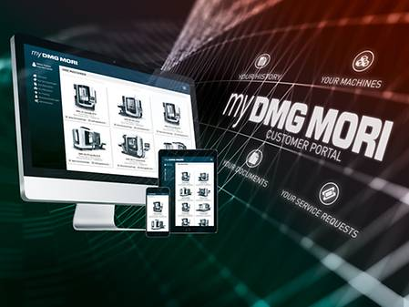 my DMG MORI Customer Portal